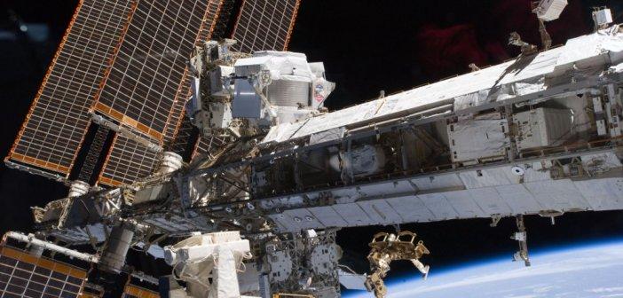 Instrument AMS-02 na ISS / Credits - NASA