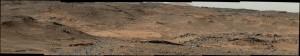Widok na Mt Sharp podczas Sol 744 / Credits - NASA/JPL-Caltech/MSSS
