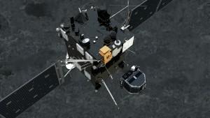 Odłączenie Philae od sondy Rosetta / Credit: ESA/ATG medialab