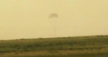 Lądowanie aparatu powrotnego statku Sojuz TMA-12M, 11 września 2014