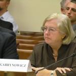 Joanne Gabrynowicz w trakcie przesłuchań w sprawie ASTEROIDS Act, 10 września 2014 / Credit: ScienceDemocrats via Flickr