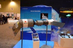 Ekspozycja z chińskiej wystawy na IAC 2015 / Credits - K. Kanawka, Kosmonauta.net