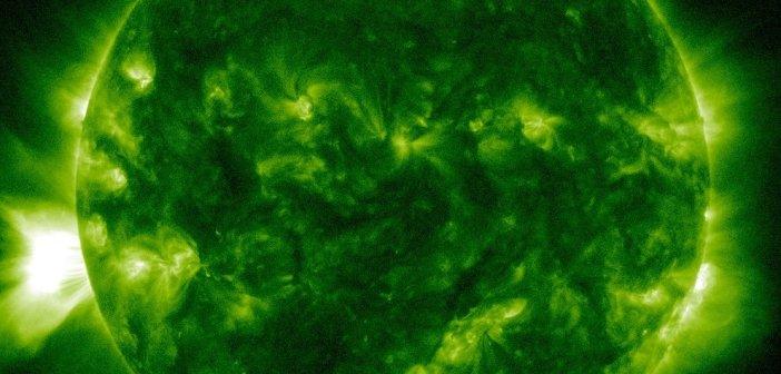 Jedno z ujęć CME z 14/15 października 2014 / Credits - NASA, SDO