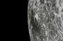 Księżyc obserwowany przez Chang'e 5-T1 / Credits - CNSA