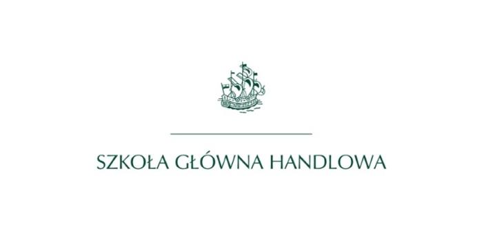 Logotyp Szkoły Głównej Handlowej