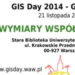 Plakat GIS Day 2014
