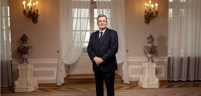 Prezydent Bronisław Komorowski / Credits - Kancelaria Prezydenta RP