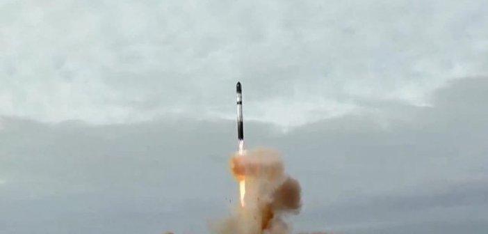 Start rakiety Dniepr - 06.11.2014 / Credits - MKK Kosmotras