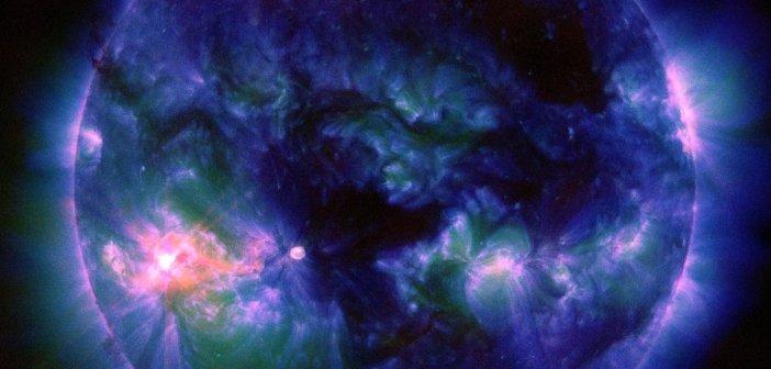 Cztery minuty po fazie całkowitej rozbłysku z 16 listopada / Credits - NASA, SDO