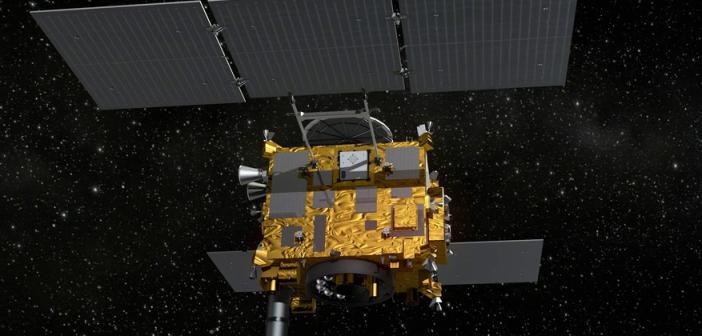 Hayabusa 2 - widoczny MASCOT