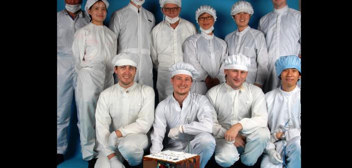 Zespół konstruktorów lądownika MASCOT
