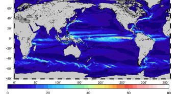 Prądy morskie i oceaniczne zwizualizowane dzięki danym z satelity GOCE