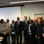 Wizyta delegacji parlamentu Kenii we Włoskiej Agencji Kosmicznej ASI