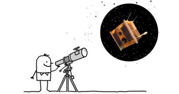 """Fragment plakatu konferencji """"Astronomia i badania kosmiczne w edukacji"""""""