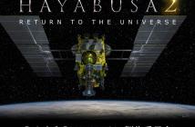 "Poster misji Hayabusa 2 ""Return to the Universe"""