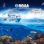 Grafika prezentująca źródła danych NOAA / Credits - NOAA