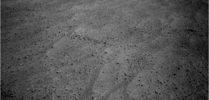 Zdjęcie z kamery nawigacyjnej Opportunity, sol 3868