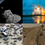 Najważniejsze wydarzenia 2014 roku / Credits - ESA, NASA, VG, NASA-JPL