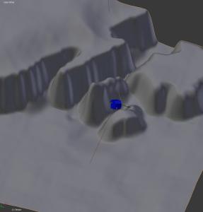 Prawdopodobne położenie i zorientowanie Philae w przestrzeni pokazane na AGU 2014