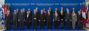 Przedstawiciele państw członkowskich ESA na Radzie Ministerialnej, 2 grudnia 2014, Luksemburg