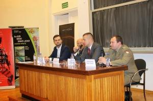 Uczestnicy panelu w ramach Dnia Teledetekcji 2014