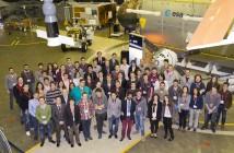 Uczestnicy warsztatów w ramach selekcji eksperymentów do programu REXUS/BEXUS, zorganizowanych w European Space Research and Technology Centre (ESTEC) w Noordwijk, Holandia, między 2 a 4 grudnia 2014 r.