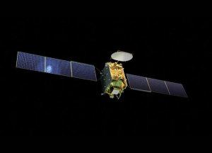 Satelita Eutelsat Quantum - wizualizacja / Credit: Eutelsat