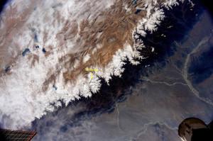 Mt Everest widziane z pokładu ISS / Credits - NASA