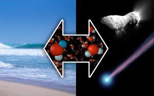 W 2011 roku badania składu izotopowego komety Hartley 2, przez Herschel Space Observatory, wykazały podobieństwa wody na komecie do wody na Ziemi