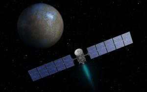 Artystyczna wizja sondy Dawn zbliżającej się do Ceres  / Credits - NASA, JPL