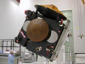 Testy orbitera Mars Express i lądownika Beagle 2 w Bajonurze, 17 kwietnia 2003