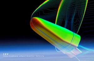 Symulacja wejścia statku IXV w atmosferę / Credits: ESA