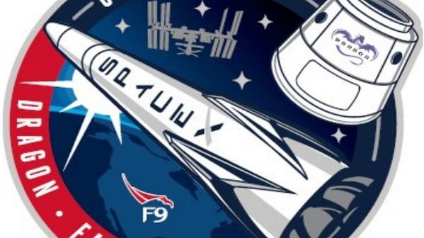 Logo misji CRS-5 / Credits - SpaceX