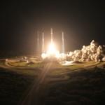 Start rakiety Atlas V z satelitą MUOS-3 / Credits: ULA
