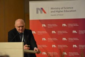 Przemawia Profesor Marek Banaszkiewicz / Credits - K. Kanawka, kosmonauta.net