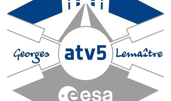 Logo misji ATV-5 / Credits - ESA