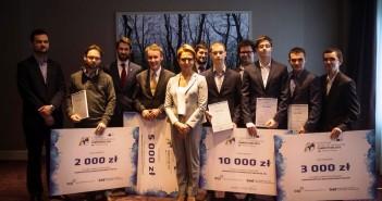 Finaliści oraz partnerzy polskiej edycji Galileo Masters 2014