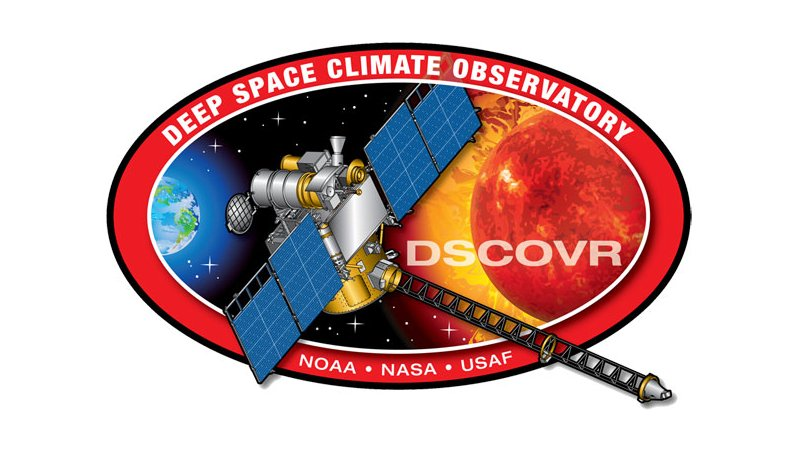 Logo misji DSCOVR / Credits - NOAA, NASA, USAF