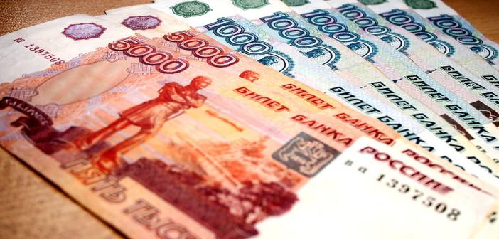 Rosyjskie ruble - banknoty