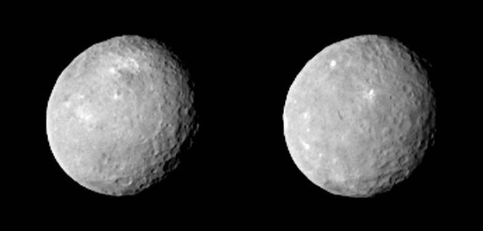 Ceres z odległości 83 tysięcy kilometrów / Credits - NASA/JPL-Caltech/UCLA/MPS/DLR/IDA