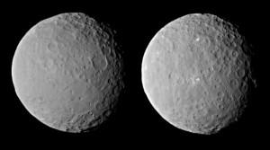 Ceres z 46 tysięcy km, 19 lutego 2015 / Credits - NASA