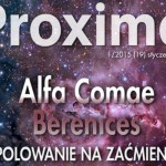 Okładka 19 numeru biuletynu Proxima / Credits - Krzysztof Kida, Proxima