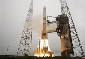 Start rakiety Delta IVM z 25 marca 2015 / Credits - United Launch Alliance