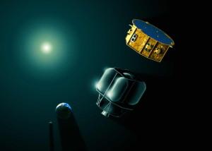 LISA Pathfinder - wizja artystyczna