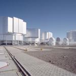 Zespół teleskopów VTL Europejskiego Obserwatorium Południowego ESO w płaskowyżu Paranal