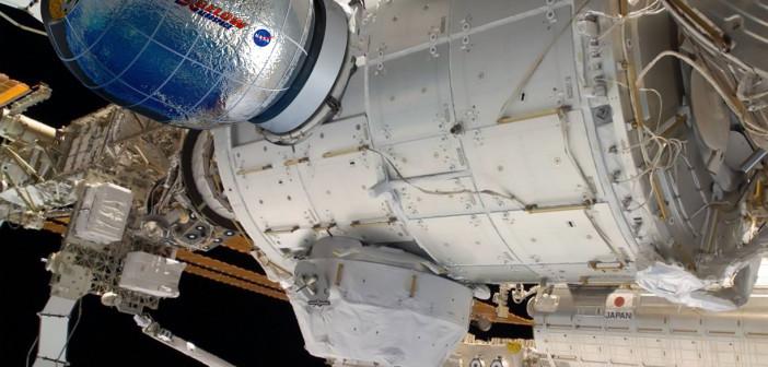 BEAM przyłączony do ISS / Credits - Bigelow