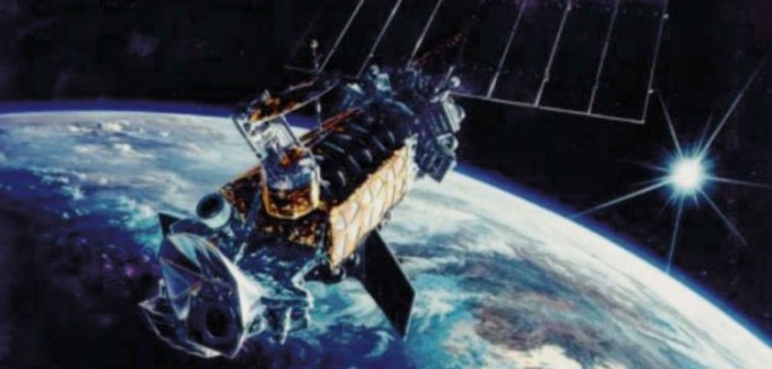 Satelita serii DMSP / Credit: Lockheed Martin