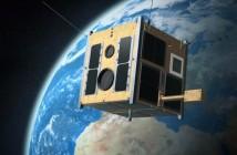 Jeden z satelitów konstelacji BRITE / Credits - BRITE-PL