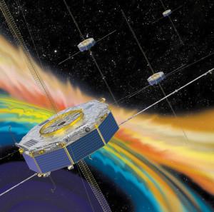 Satelity MMS - wizja artystyczna