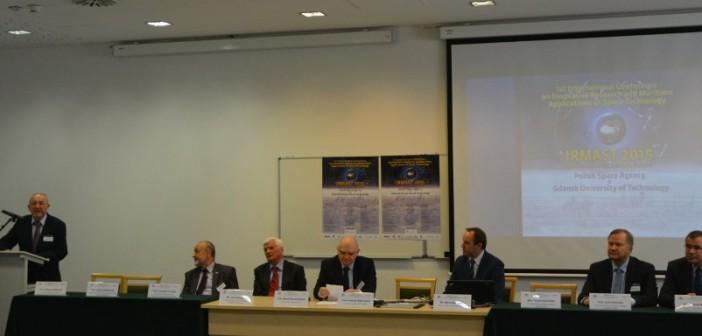 Początek konferencji IRMAST, Gdańsk 23.04.2015 / Credits - K. Kanawka, Kosmonauta.net